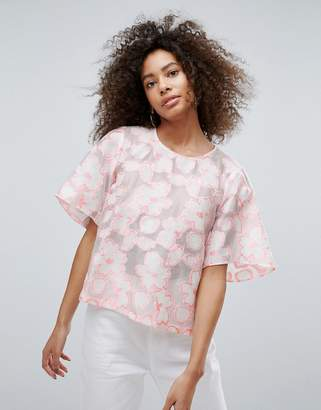 Traffic People Floral Crop Top