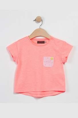 Catimini Neon Coral Shirt