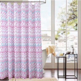 RT Designers Collection Classic Chevron 70 x 72 in. Printed Shower Curtain