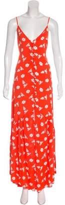 Flynn Skye Floral Print Maxi Dress w/ Tags