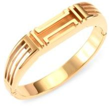 Tory Burch Tory Burch Tory Burch x Fitbit Goldtone Metallic Bangle