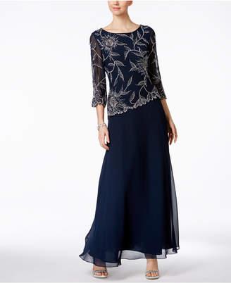 J Kara Hand-Beaded A-Line Gown $249 thestylecure.com