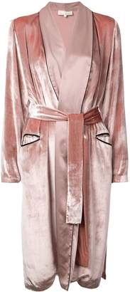 Fleur Du Mal long smoking robe