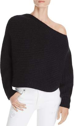 Alexander Wang One-Shoulder Chunky Sweater