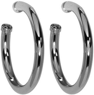 Kenneth Jay Lane Large Hoop Pierced Earrings