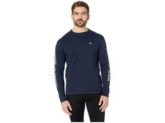 Tommy Jeans Essential Long Sleeve Logo T-Shirt