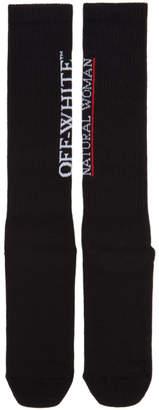 Off-White Black Foundation Socks