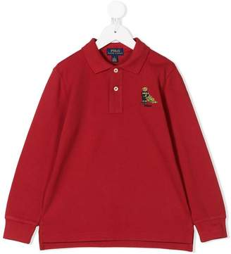 Ralph Lauren Kids Christmas tree polo shirt