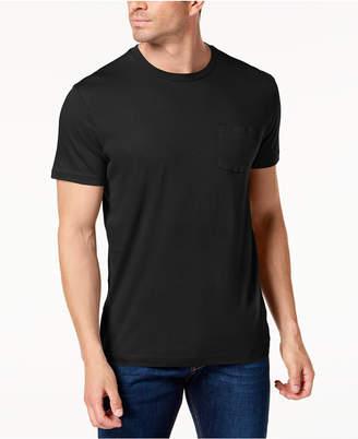 Club Room Men's Crew Neck Pocket T-Shirt, Created for Macy's