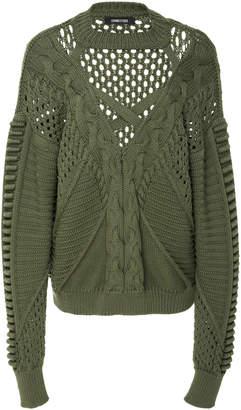 Cushnie et Ochs Somer Cutout Sweater