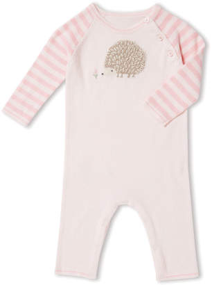 Angel Dear Hedgehog Intarsia Coverall, Size 0-12 Months