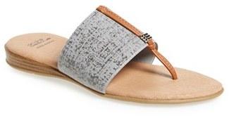 Women's Andre Assous 'Nice' Slide Sandal $88.95 thestylecure.com