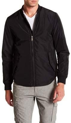 Scotch & Soda Sporty Nylon Bomber Jacket