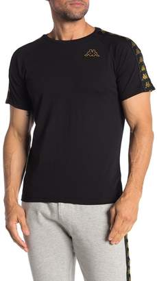 Kappa Active 222 Banda Short Sleeve Slim Fit T-shirt