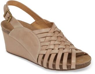 Chocolat Blu Eliana Woven Wedge Sandal
