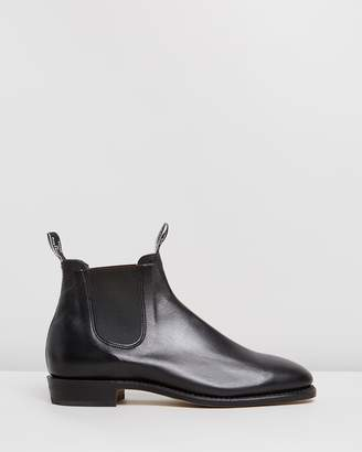 R.M. Williams Adelaide Boots - Black Kangaroo