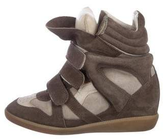371d10e02c3 Isabel Marant Wedge Sneakers - ShopStyle