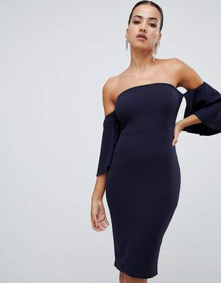 AX Paris off the shoulder midi dress