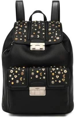 Lanvin Jiji Studded Textured-Leather Backpack