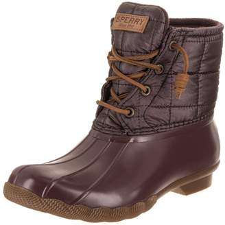 Sperry Saltwater Shiny Quilted Boots