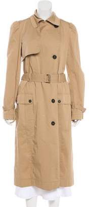 Rebecca Taylor Long Trench Coat