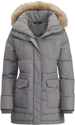 Ralph Lauren Faux-Fur-Trimmed Jacket