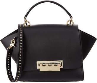 Zac Posen Eartha Leather Top Handle Crossbody Bag