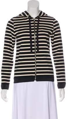 AR+ AR SRPLS Hooded Striped Sweatshirt