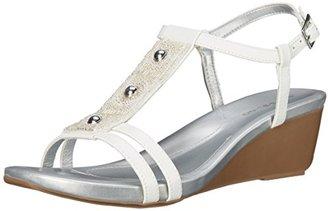 Bandolino Women's Hettie Wedge Sandal $22.99 thestylecure.com
