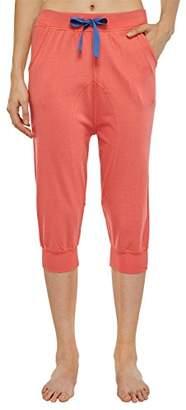 Schiesser Uncover by Women's 152281 Pyjama Bottoms - Red - UK 8