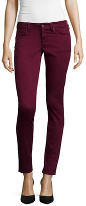 ARIZONA Arizona Sateen Skinny Pants - Juniors $40 thestylecure.com