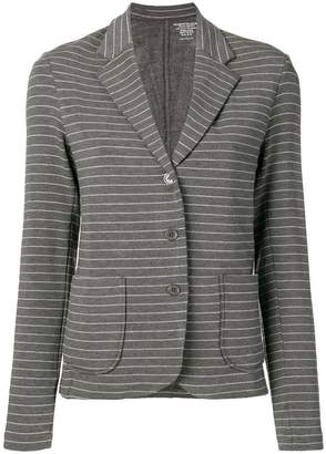 Majestic Filatures striped single breasted blazer