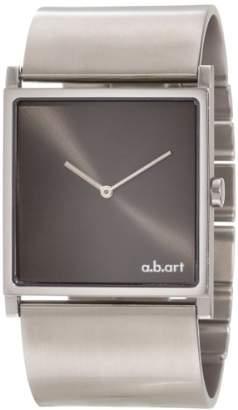 "D+art's a.b. art Unisex EL108B ""Series EL: Stainless Steel Bangle Watch"