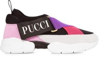 Emilio Pucci Color Block Logo Sneaker