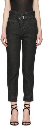 Isabel Marant Black Evera Jeans $480 thestylecure.com