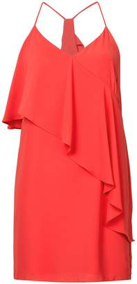 Amanda Uprichard asymmetrical ruffle top dress