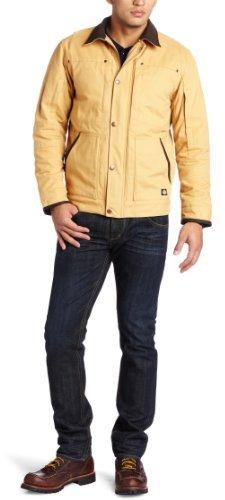 Dickies Men's Sanded Duck Sherpa Lined Jacket