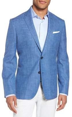 Blend of America Monte Rosso Trim Fit Wool Blazer