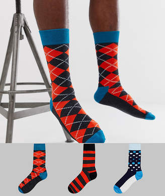 Happy Socks HS by 3 pack
