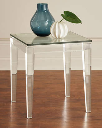 Interlude Home Teighlor Acrylic Side Table