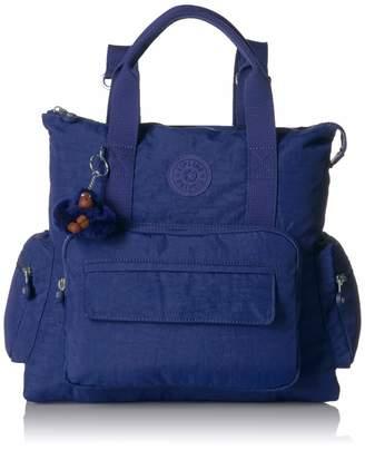 Kipling Alvy 2-in-1 Convertible Tote Bag Backpack Wear 2 Ways Zip Closure