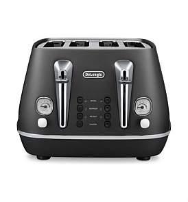 De'Longhi Delonghi Cti4003Bk - Distinta 4-Slice Toaster In Black