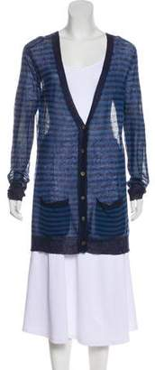 Steven Alan Long Sleeve Button-Up Cardigan