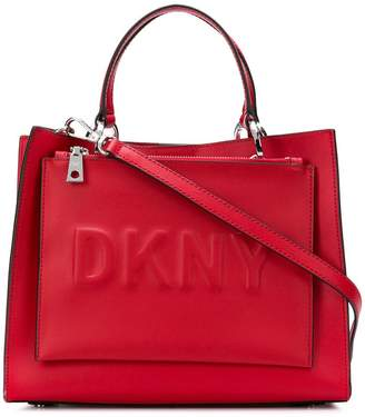 DKNY structured tote bag