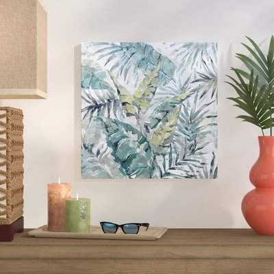 Wayfair 'Blissful' Framed Print on Wrapped Canvas