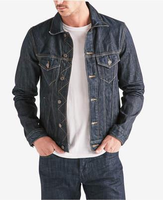 Lucky Brand Men's Classic-Fit Denim Trucker Jacket