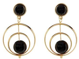 Trina Turk Double Drop Spinning Earrings