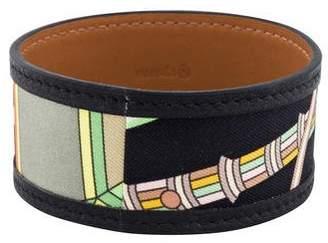 Hermes Petit H Leather Bracelet
