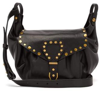 Isabel Marant Sinley Leather Cross Body Bag - Womens - Black