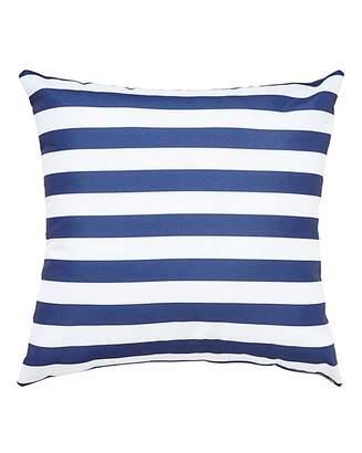 Fashion World Navy Stripe Outdoor Cushion